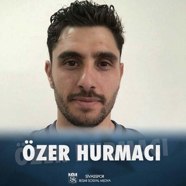 Özer Hurmacı | Büyükşehir Belediye Erzurumspor > Demir Grup Sivasspor | BONSERVİS BEDELİ: Yok