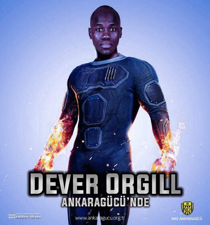 Dever Orgill - Wolfsberger AC > Ankaragücü | BONSERVİS BEDELİ: Bilinmiyor