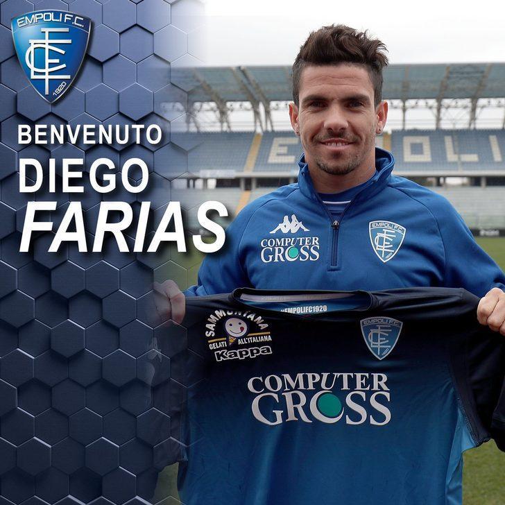 Diego Farias - Cagliari > Empoli | BONSERVİS BEDELİ: Kiralık