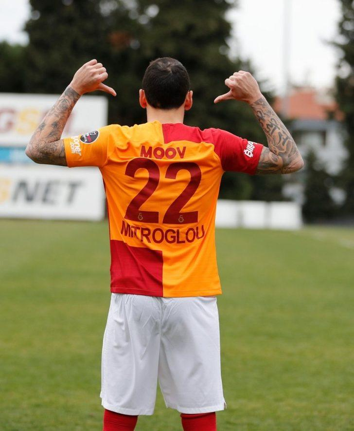 Galatasaray, Kostas Mitroglou'yu KAP'a bildirdi