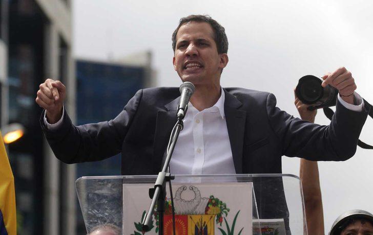 Guaido'ya göre Venezuela'da iç savaş riski yok!