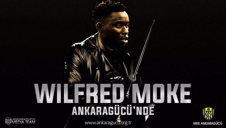 Wilfred Moke - Atiker Konyaspor > Ankaragücü |BONSERVİS BEDELİ: Bilinmiyor