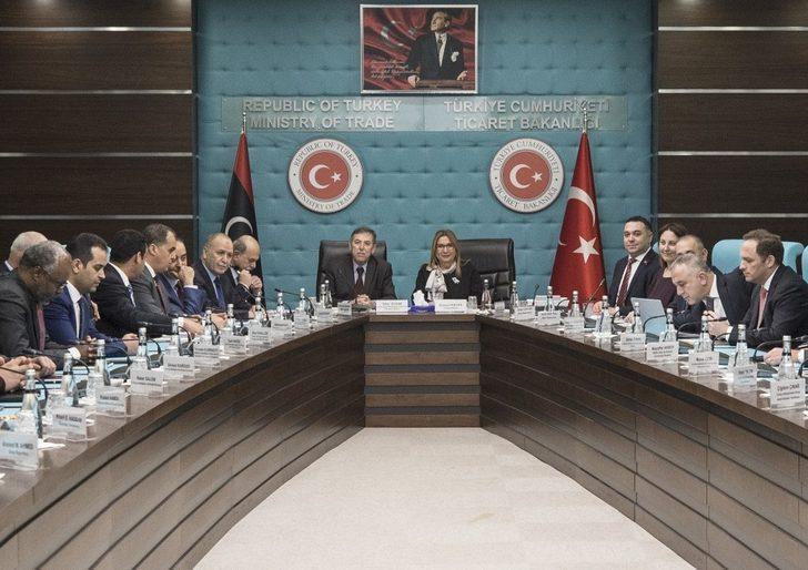 Ankara'da Türk-Libya Müteahhitlik Ortak Çalışma Grubu toplantısı yapıldı