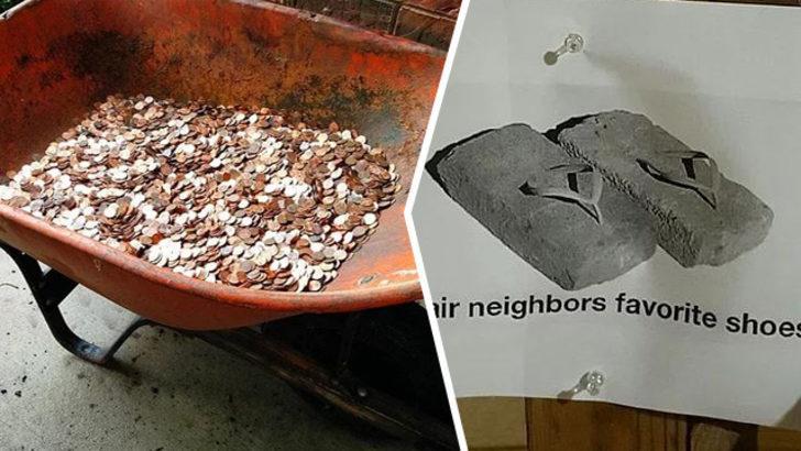 Komşuluk neydi? Çıldırtan komşu hareketleri...