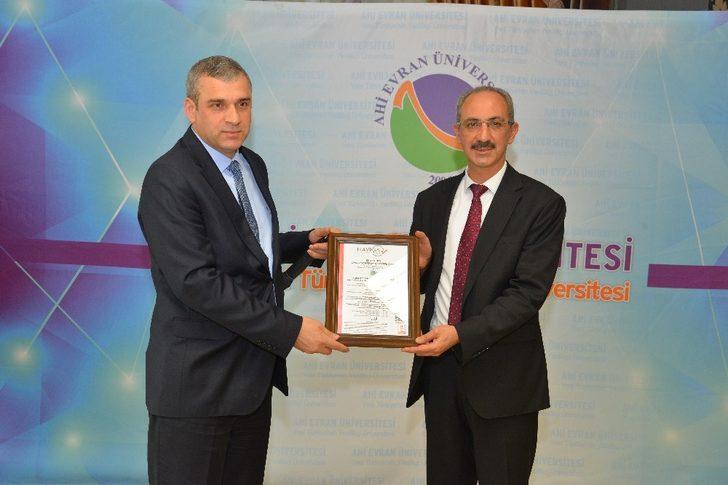 KAEÜ'si  ISO 27001:2013 Bilgi Güvenliği Yönetim Sistemi Standardı Sertifikasını aldı