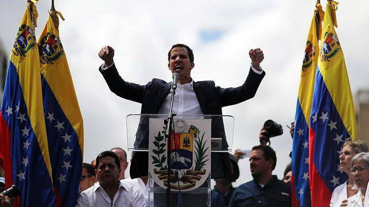 Maduro'nun seçim kararının ardından Guaido'dan sokağa çıkma çağrısı