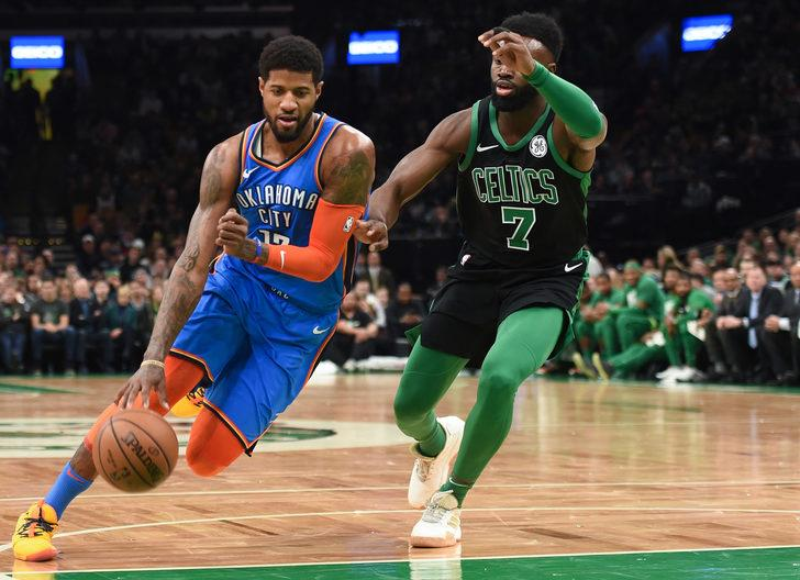 Boston Celtics Oklahoma City Thunder'ı 134-129 yendi