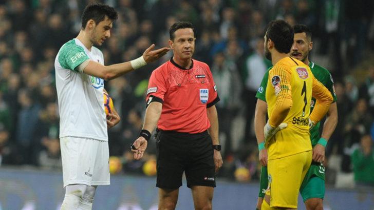 Bursaspor bu sezon penaltıları atamıyor