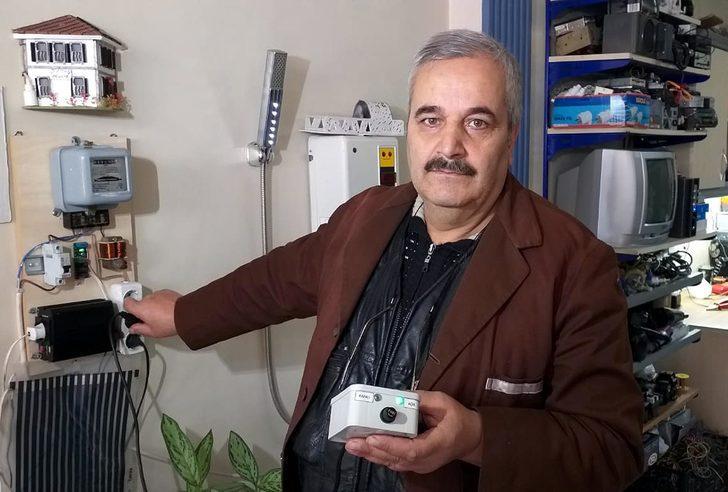 Elektrik faturasını azaltan cihaz geliştirdi