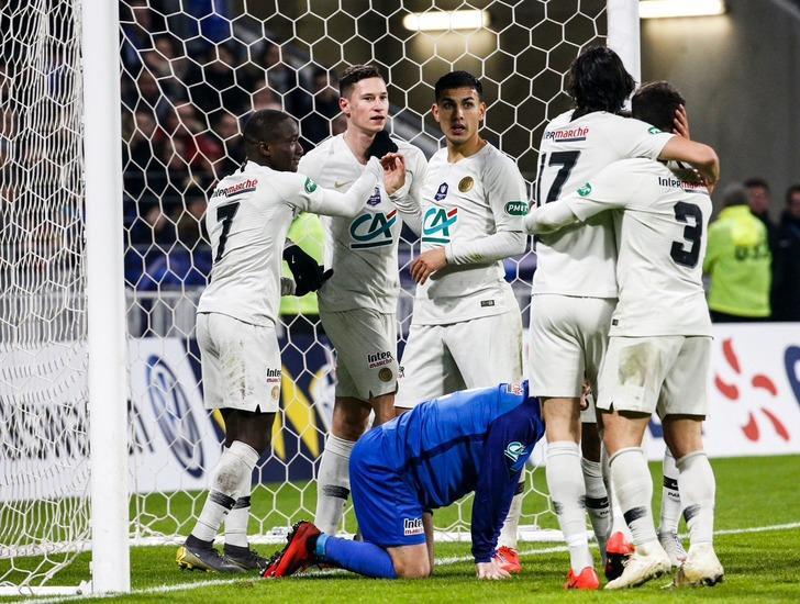 PSG, Villefranche'ı 3-0 yenerek Fransa Kupası'nda çeyrek finale yükseldi