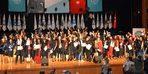 Öğrenciler diplomalarına kavuştu