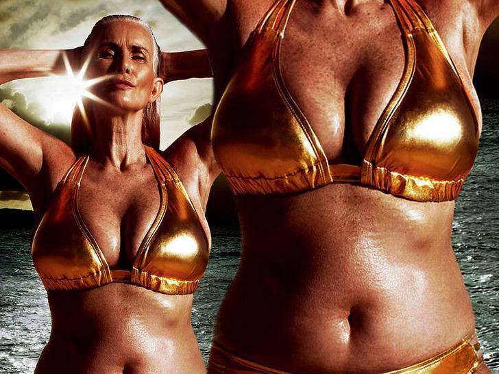 60 yaşındaki model moda dünyasının sınırlarını zorluyor!