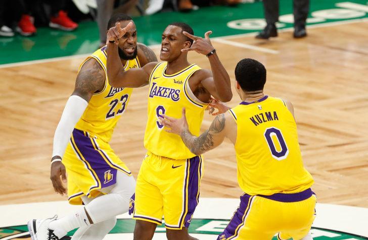 Los Angeles Lakers, Boston Celtics karşısında son saniye basketiyle kazandı