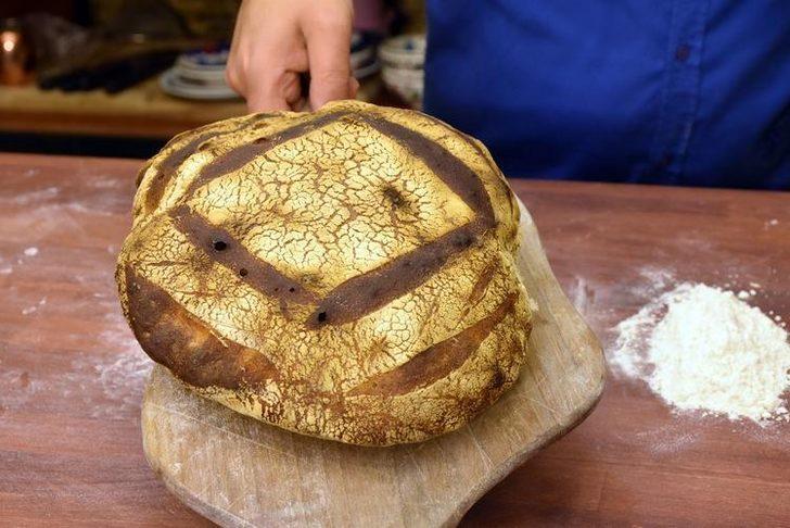 Atatürk'e ikram edilen bu ekmek 100 yıl sonra yeniden üretildi