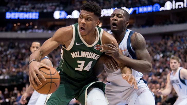 Milwaukee Bucks  Dallas Mavericks'i yenerek serisini sürdürdü