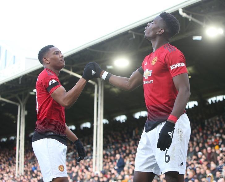 Fulham 0 - 3 Manchester United