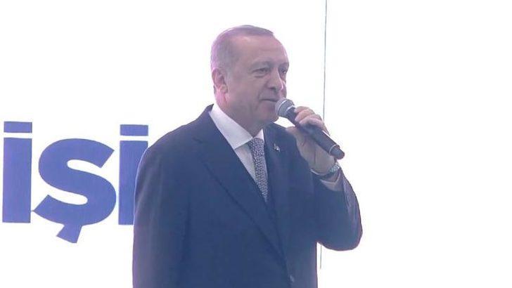 Erdoğan: Halde terör estirenlerin işini de biz en kısa sürede bitiririz