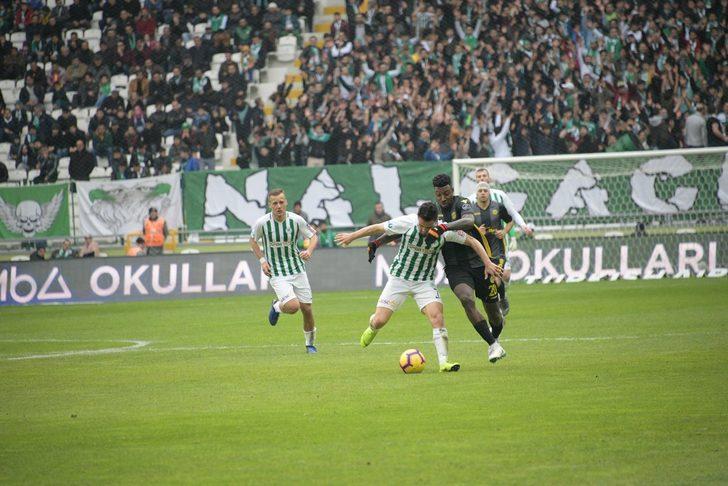 Konyaspor 1 - 1 Yeni Malatyaspor