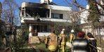 Çakmakla oynayan çocuk evi yaktı