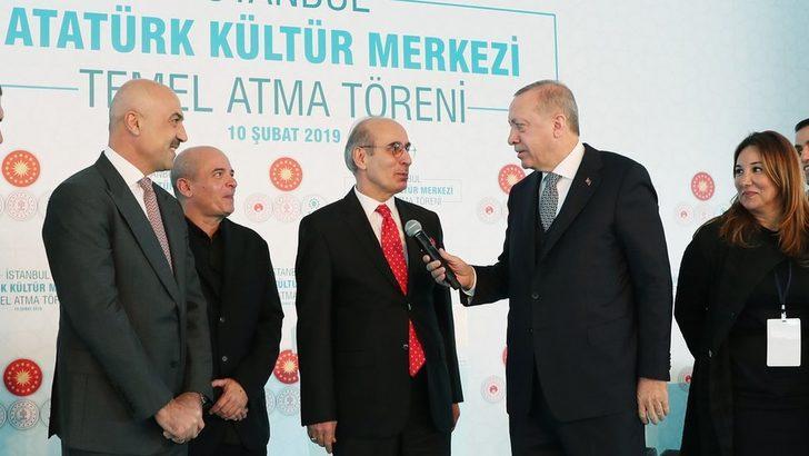 Cumhurbaşkanı Erdoğan AKM'nin temelini attı: Jakoben zihniyete karşı bir zafer anıtı olacak