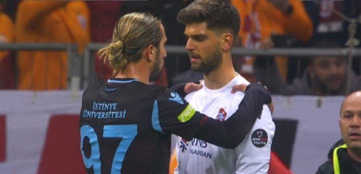 Yusuf Yazıcı, penaltı öncesi Arda Akbulut'u teselli etti