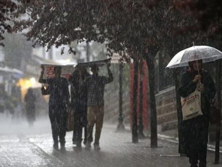 Meteoroloji'den son hava durumu tahmini uyarısı! (Dikkat! Bu gece başlıyor)
