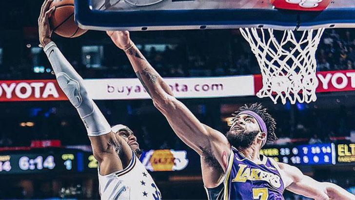 Philadelphia 76ers Los Angeles Lakers'ı farklı yendi