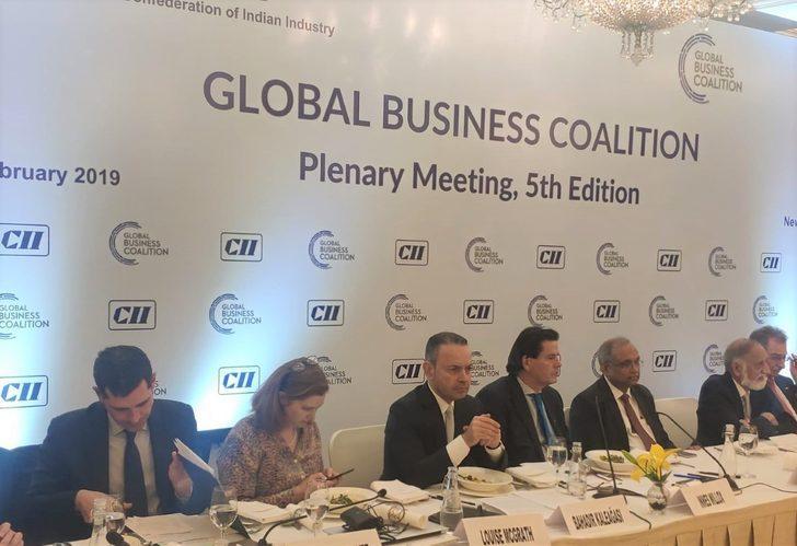 Küresel iş koalisyonu başkanlar toplantısı Yeni Delhi'de düzenleniyor