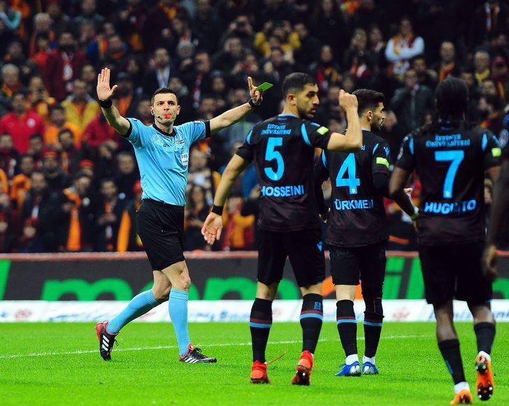 Ümit Öztürk'ün Galatasaray - Trabzonspor maçı raporu ortaya çıktı!