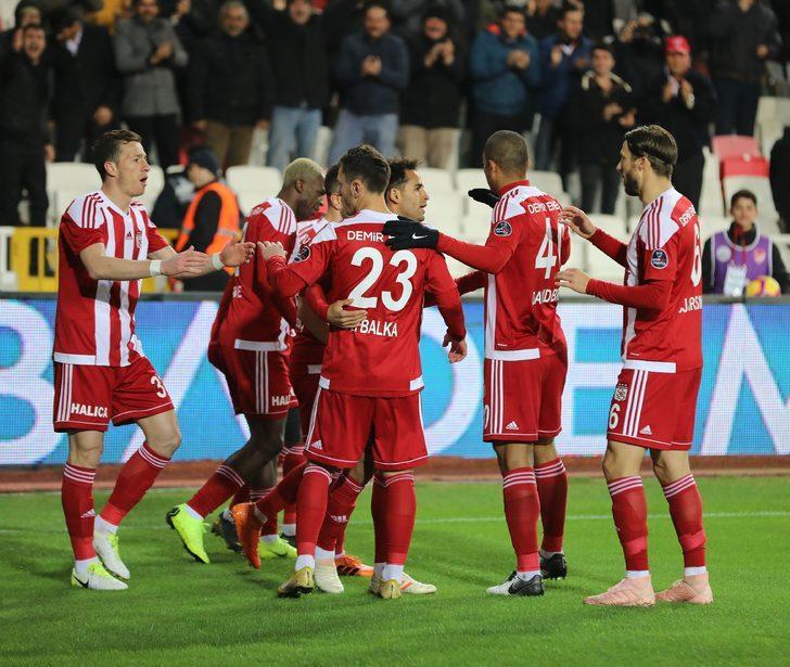 Sivasspor'un yükselişi sürüyor
