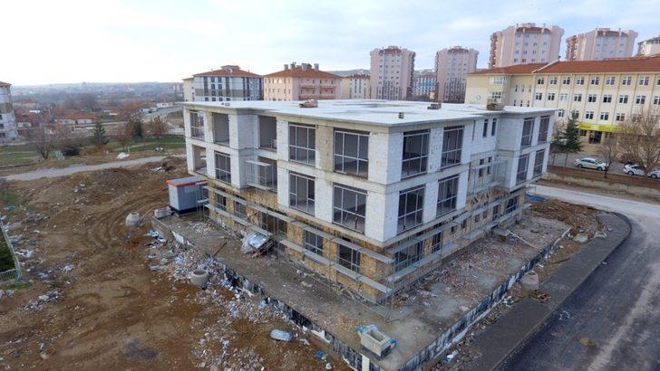 Bağbaşı bölgesi aile yaşam merkezi inşaatı son aşamada
