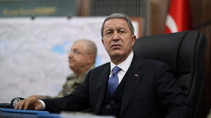 Milli Savunma Bakanı Akar'dan helikopter kazasıyla ilgili açıklama