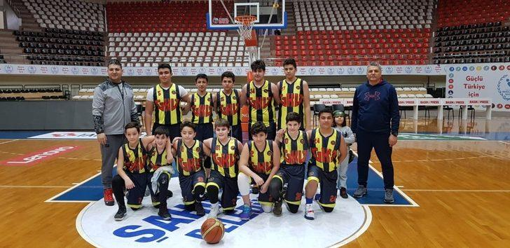 GKV U14 Basketbol Takımı Gaziantep şampiyonu