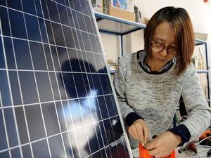 Çinli kadın devlet desteğiyle girişimci oldu