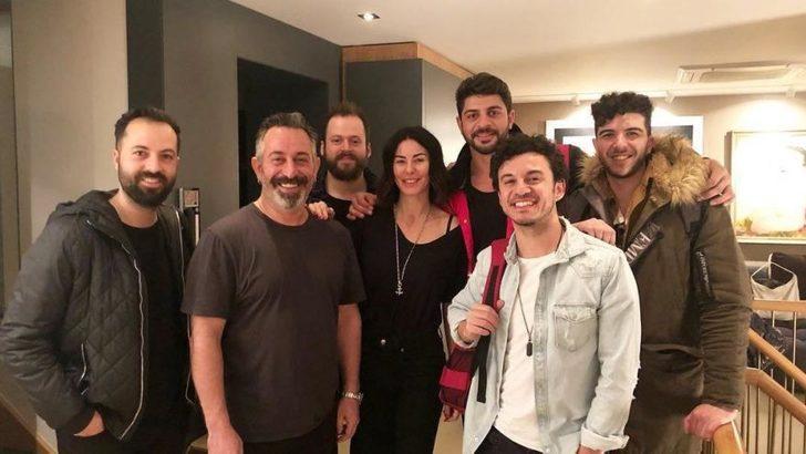 Cem Yılmaz genç şarkıcı Buray'ı ağırladı