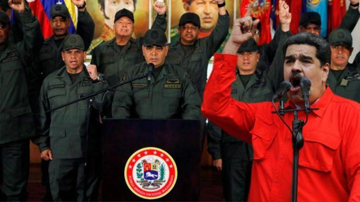 Maduro'dan emir verdi, asker alarm durumuna geçti! 23 Şubat muamması!