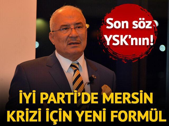 İYİ Parti'de Burhanettin Kocamaz krizi için yeni formül!