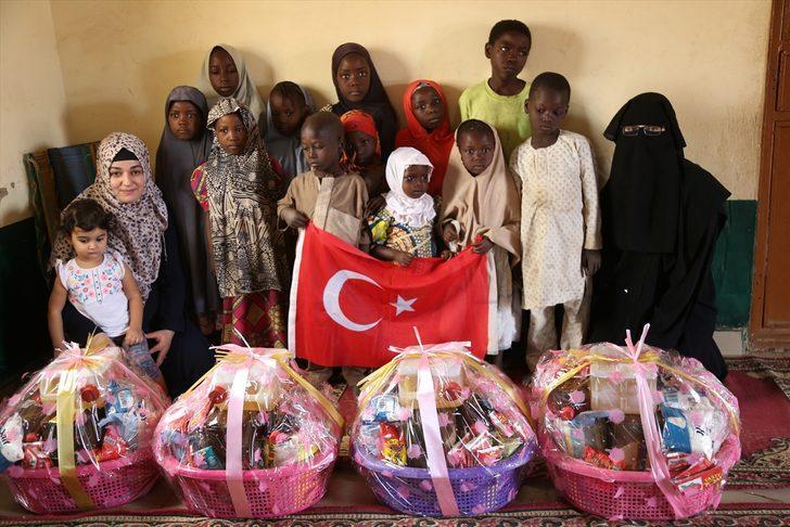 Türkiye'deki kadınlardan Nijerya'daki yetimlere yardım