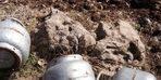 Cudi Dağı'nda teröristlere ait yaşam malzemesi ele geçirildi