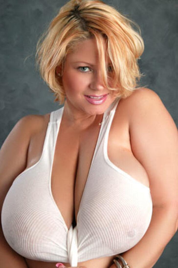 Крупные груди толстой блондинки фото — pic 10