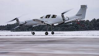 'Hava taksi' test uçuşunu yaptı
