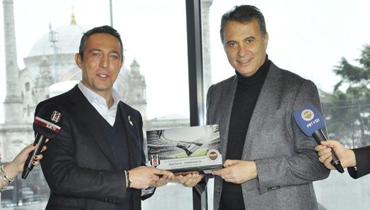 Beşiktaş-Fenerbahçe derbisi öncesi Fikret Orman ve Ali Koç'tan ortak açıklama!