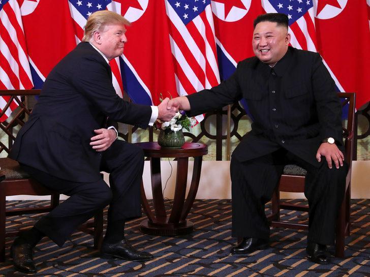Kim Trump'ı Pyongyang'a davet etti