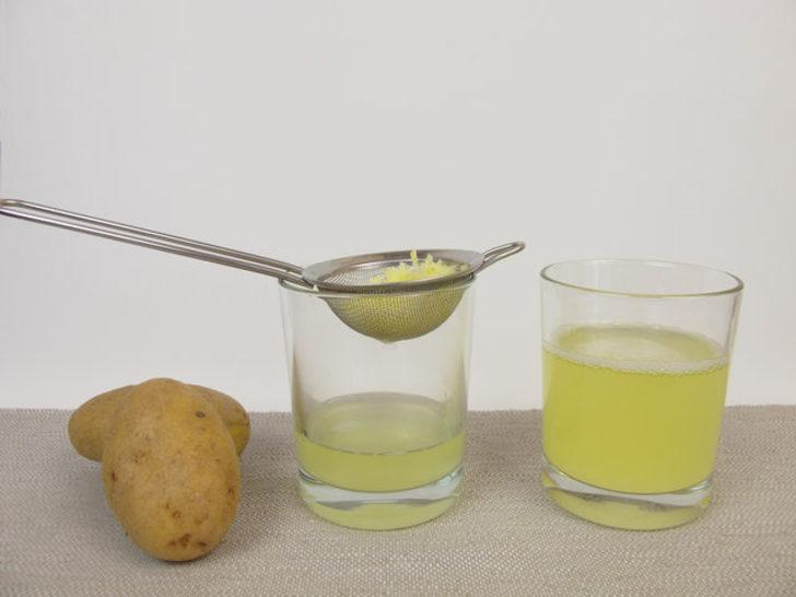 Patates suyu nasıl hazırlanır?