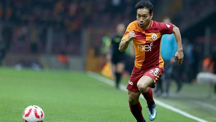 Galatasaray'da Yuto Nagatomo kadroya alınmadı