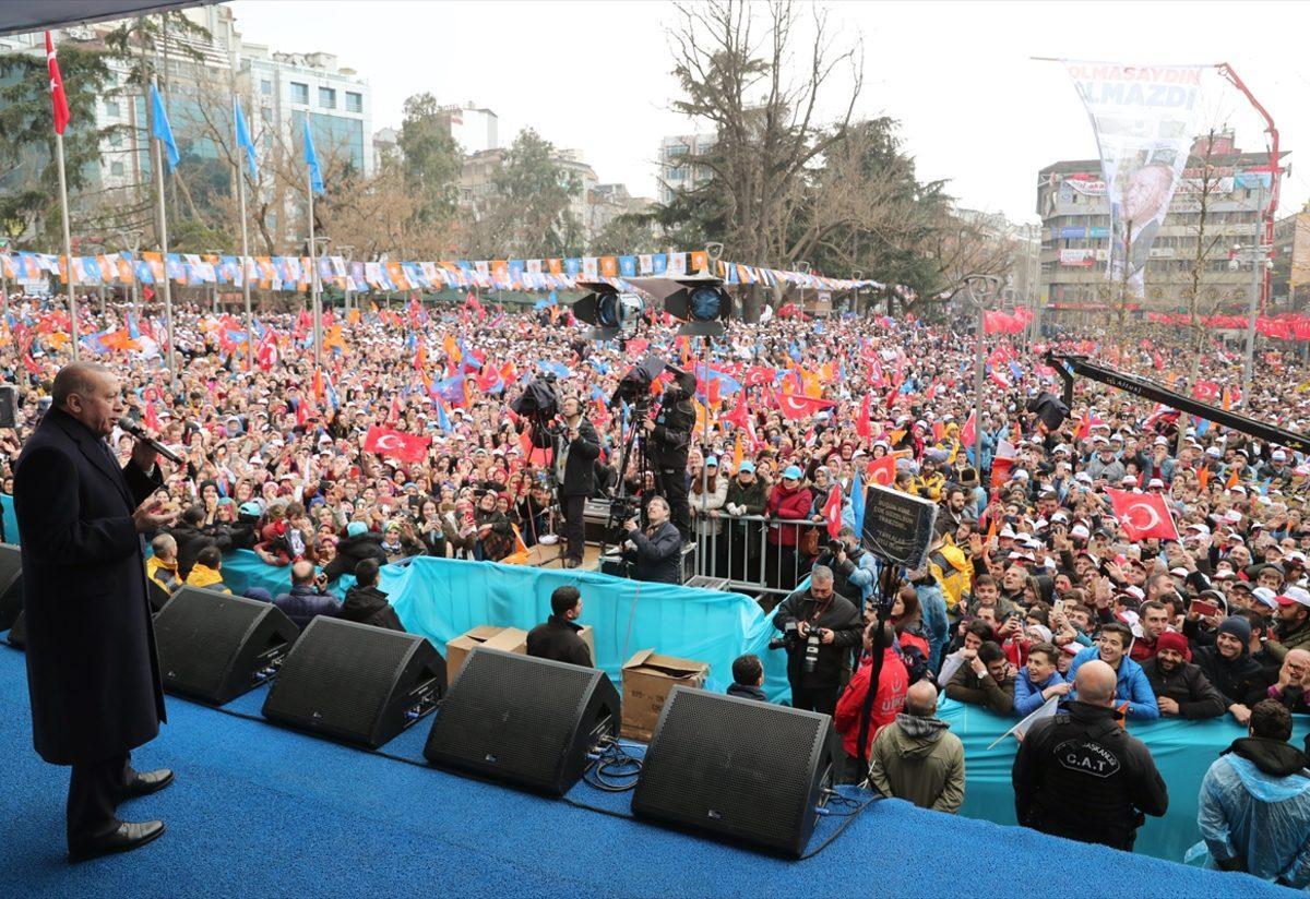 AK Parti'nin Trabzon mitingi - Haberler
