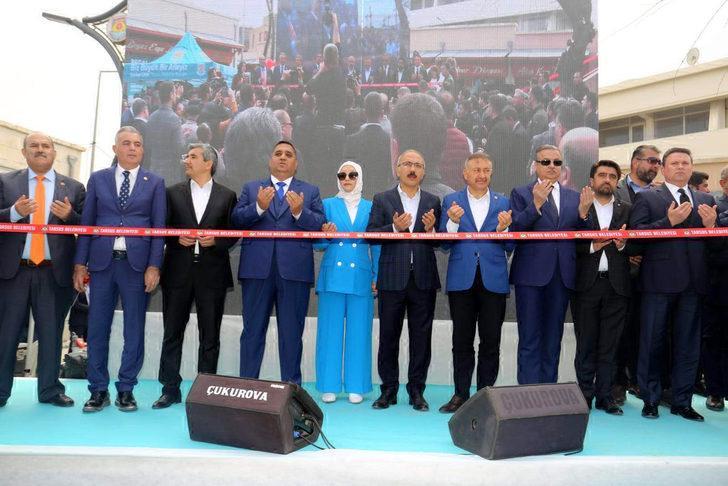 Tarihi Ticaret Merkezi'nin ilk etabı açıldı