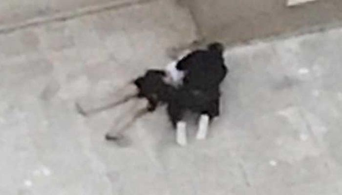 Bursa'da genç kadın kendisini 4. kattan aşağı attı