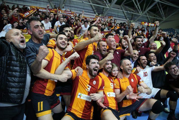 Galatasaray Erkek Voleybol Takımı CEV Kupası'nda finale yükseldi