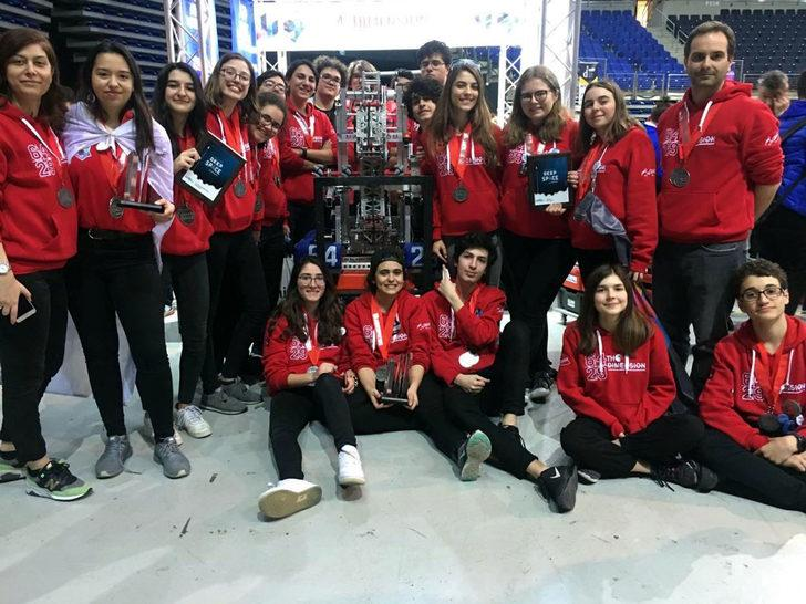 Liselilerin 'robotik takımı' ABD yolcusu